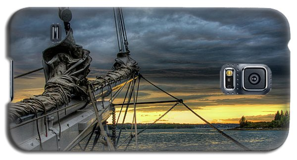 Smith Cove Sunset Galaxy S5 Case