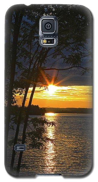 Smith Mountain Lake Summer Sunet Galaxy S5 Case