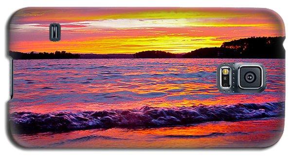 Smith Mountain Lake Surreal Sunset Galaxy S5 Case