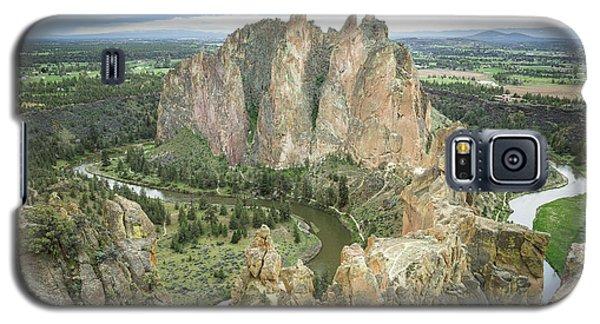 Smith Rock From Misery Ridge Galaxy S5 Case