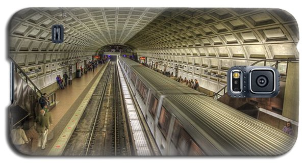 Smithsonian Metro Station Galaxy S5 Case by Shelley Neff