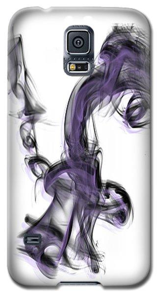Smoke 01 Purple Galaxy S5 Case
