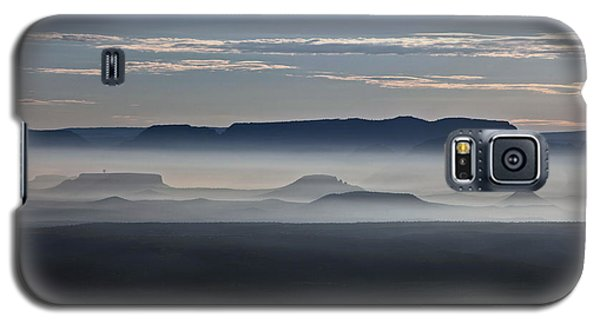 Smoke From Wildfires After Sunrise In The Verde Valley Galaxy S5 Case