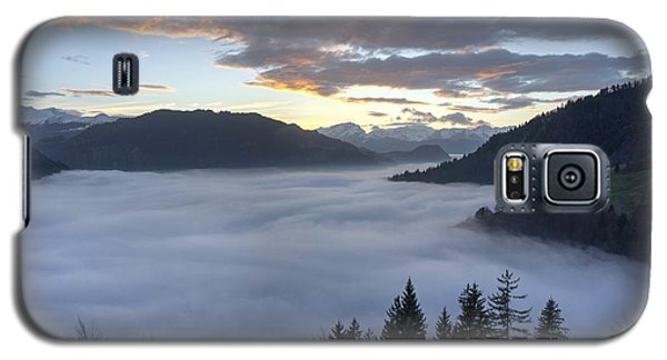 Galaxy S5 Case featuring the photograph Smoke In The Valley Fire In The Sky by Peter Thoeny