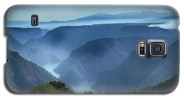 Smoke Over Flaming Gorge Galaxy S5 Case