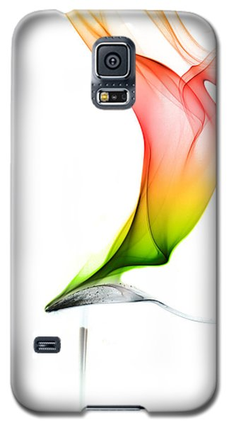 Galaxy S5 Case featuring the photograph smoke X by Joerg Lingnau