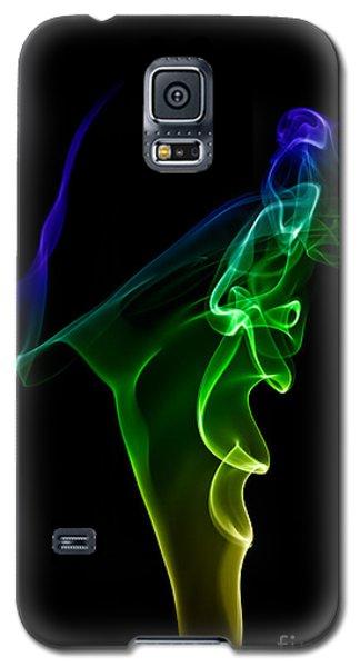 smoke XIV Galaxy S5 Case by Joerg Lingnau