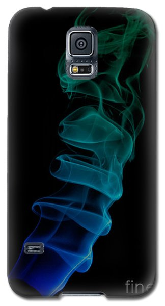 Galaxy S5 Case featuring the photograph smoke XIX ex by Joerg Lingnau