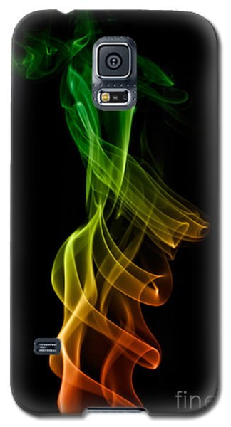 Galaxy S5 Case featuring the photograph smoke XXII by Joerg Lingnau
