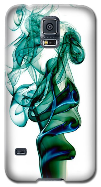 Galaxy S5 Case featuring the photograph smoke XXIII by Joerg Lingnau