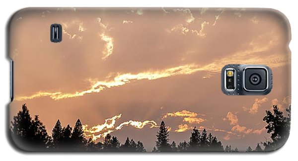 Smokey Skies Sunset Galaxy S5 Case by Melanie Lankford Photography