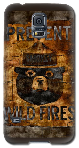 Smokey The Bear Only You Can Prevent Wild Fires Galaxy S5 Case