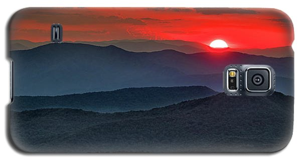 Smokies Sunset Galaxy S5 Case