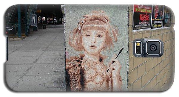 Smoking Girl  Galaxy S5 Case