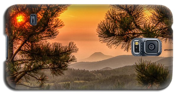 Smoky Black Hills Sunrise Galaxy S5 Case
