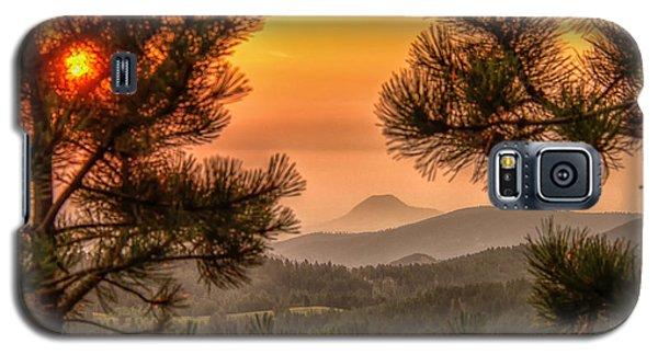 Smoky Black Hills Sunrise Galaxy S5 Case
