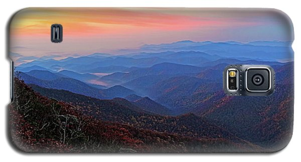Dawn From Standing Indian Mountain Galaxy S5 Case