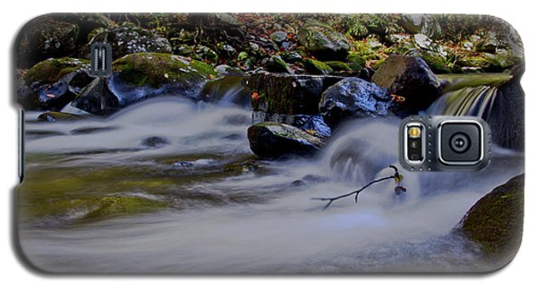 Galaxy S5 Case featuring the photograph Smoky Mountain Stream by Douglas Stucky
