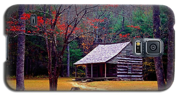 Smoky Mtn. Cabin Galaxy S5 Case
