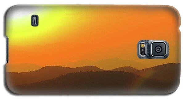 Smoky Sunset  Galaxy S5 Case
