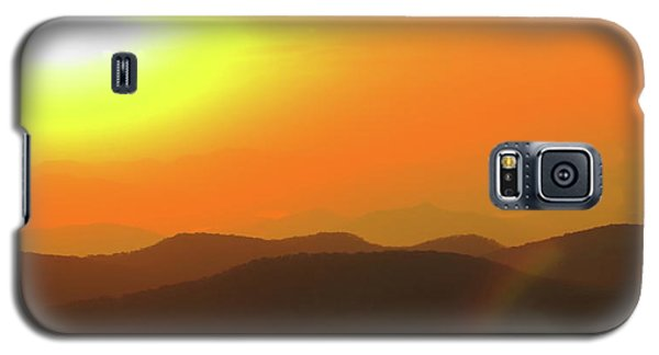 Smoky Sunset  Galaxy S5 Case