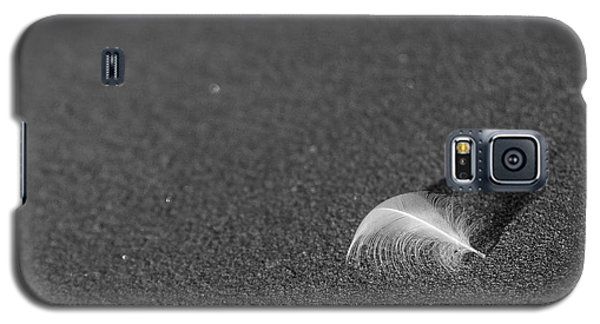 Galaxy S5 Case featuring the photograph Smooth As A Feather by Lora Lee Chapman