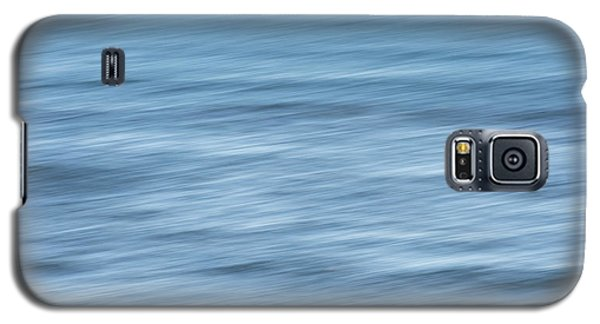 Smooth Blue Abstract Galaxy S5 Case by Terry DeLuco
