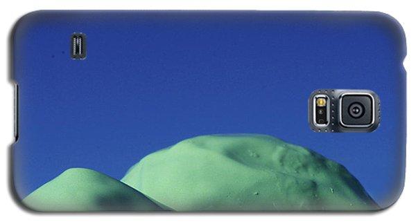 Smooth Green Mountians Galaxy S5 Case
