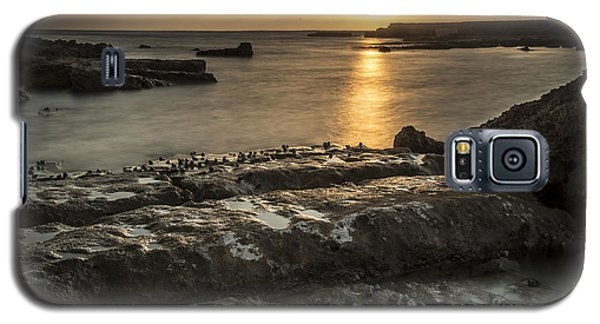 Snails At Sunset Galaxy S5 Case by Arik Baltinester