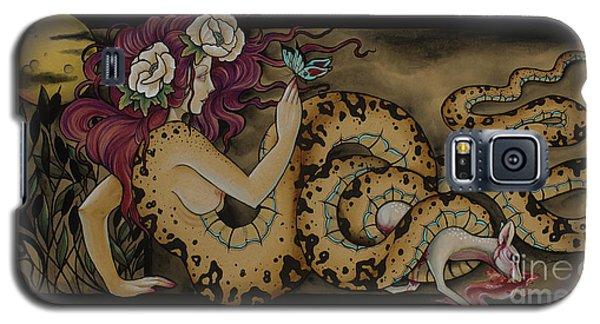 Snake Lady Galaxy S5 Case