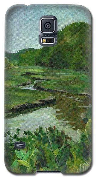 Snake Like Creek I Me Galaxy S5 Case