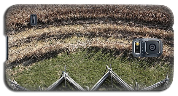 Snake-rail Fence And Cornfield Galaxy S5 Case