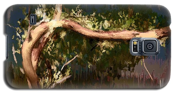 Galaxy S5 Case featuring the digital art Snake Tree by Dale Stillman