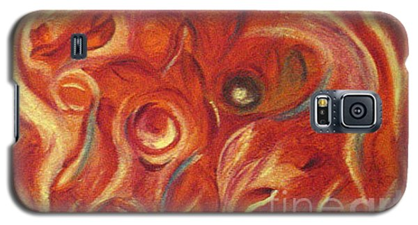 Galaxy S5 Case featuring the painting Snapy by Fanny Diaz