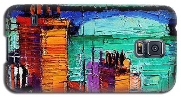 Architecture Galaxy S5 Case - Sneak Peek Close-up Of A New by Mona Edulesco