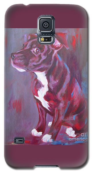 Sneaky Look - Staffy Galaxy S5 Case
