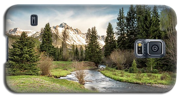 Sneffels And Spring Stream Galaxy S5 Case
