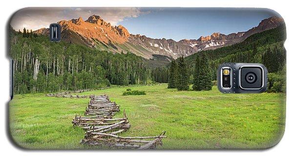 Sneffels Fence Horizontal Galaxy S5 Case