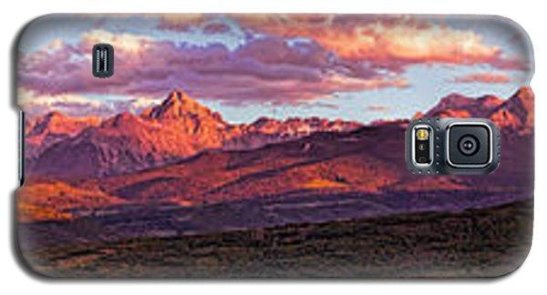 Sneffel's Range Sunset Galaxy S5 Case