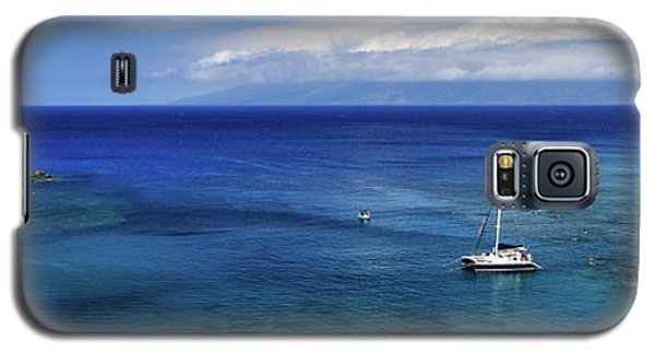 Galaxy S5 Case featuring the photograph Snorkeling In Maui by James Eddy
