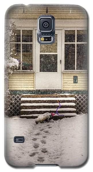 Snow 203 Door Galaxy S5 Case