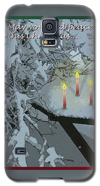 Snow And Candlelight Galaxy S5 Case