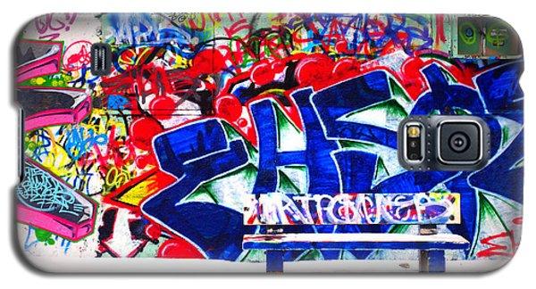Snow And Graffiti Galaxy S5 Case