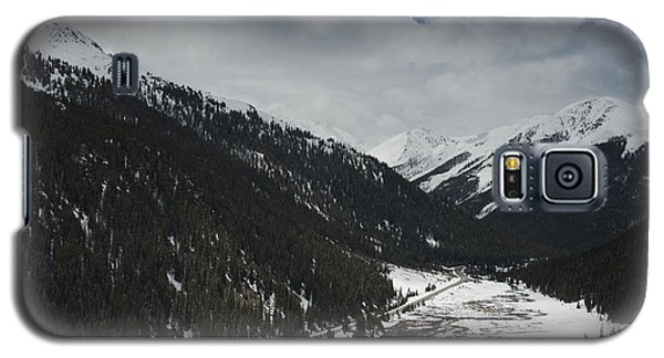 Snow At Independence Pass Colorado Highway 82 Galaxy S5 Case