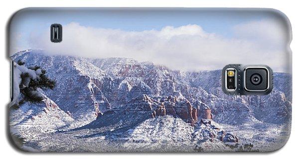 Snow Blanket Galaxy S5 Case by Laura Pratt