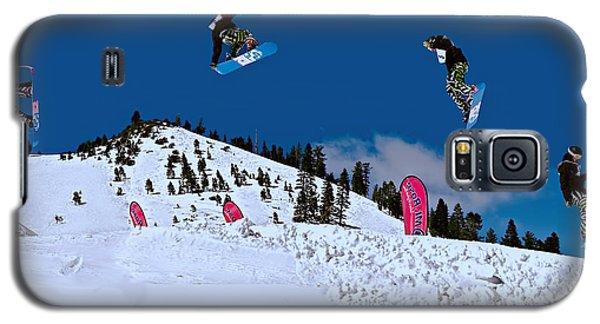 Snow Boarder Galaxy S5 Case