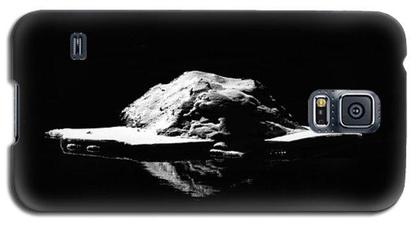 Galaxy S5 Case featuring the photograph Snow Boulder by Britt Runyon