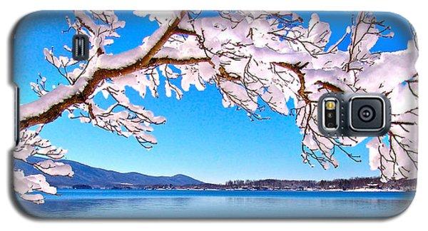 Snow Branch Smith Mountain Lake Galaxy S5 Case
