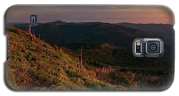 Galaxy S5 Case featuring the photograph Snow Camp Lookout by Leland D Howard