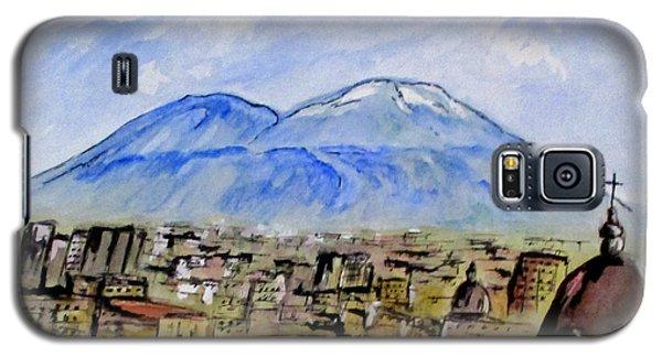 Snow Capped Vesuvio Galaxy S5 Case